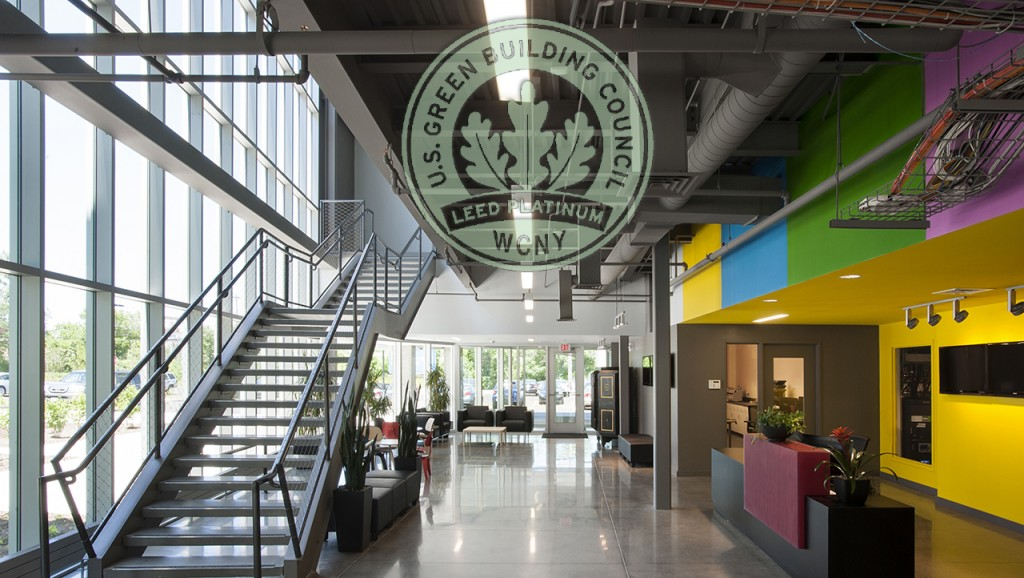 Wcny Public Media Leed Platinum Certified Member