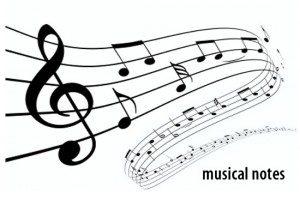 musical notes widget