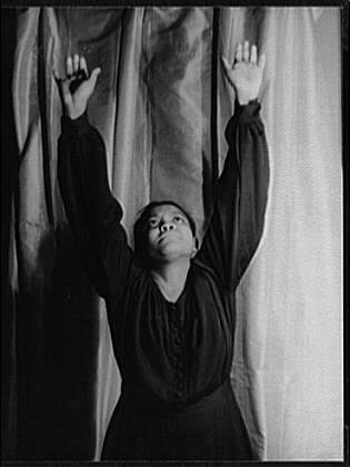 Ruby Elzy as Serena, (Porgy and Bess, 1935)