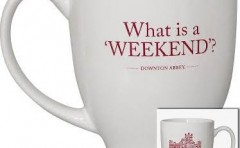 Downton Abbey Mug – What is a 'Weekend'?