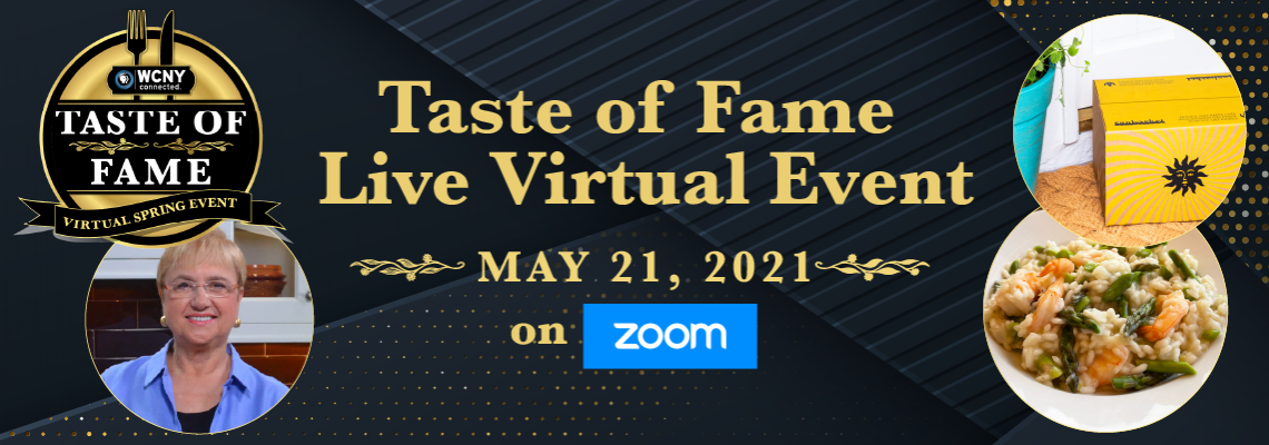 Taste of Fame Live Virtual Culinary Experience