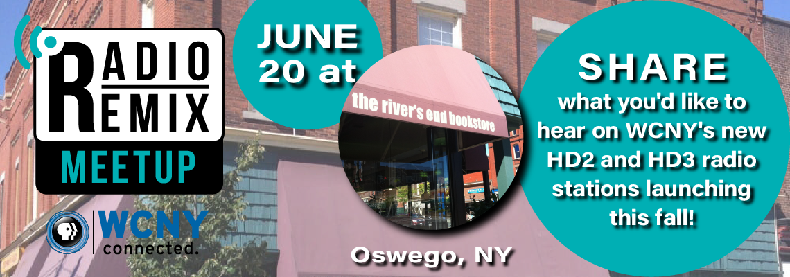 Radio Remix Meetup – The River's End Bookstore