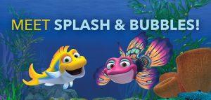 splash and bubbles widget