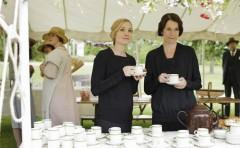 Downton Abbey Tea on the Mezzanine #1
