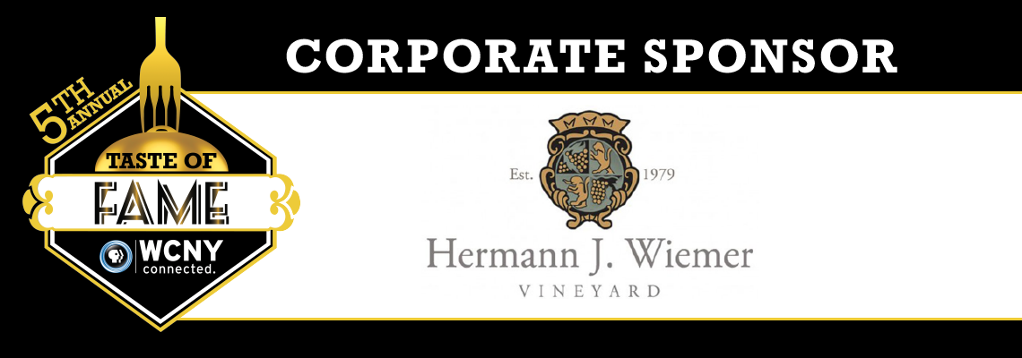 Taste of Fame 2019 sponsor Hermann J. Wiemer Vineyard