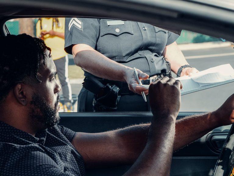 Police, traffic, ticket, speeding, driving