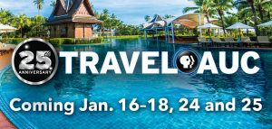 TravelAuc Jan. 16-18,24 and 25