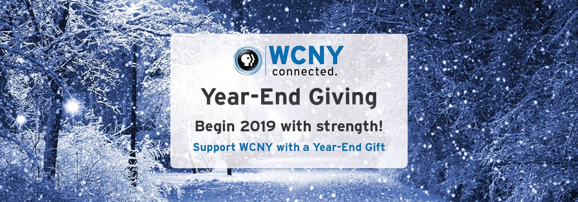 Support WCNY with a year end gift!