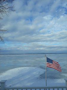 104 Winter on Oneida LakeElizabeth Garris Madison County