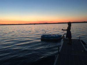 58Fishing at sunset Gwyneth Breeze-Hrycko Cayuga County