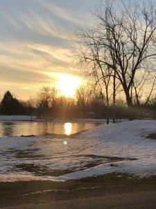 66 Winter on the riverFran DeLuca Oswego County
