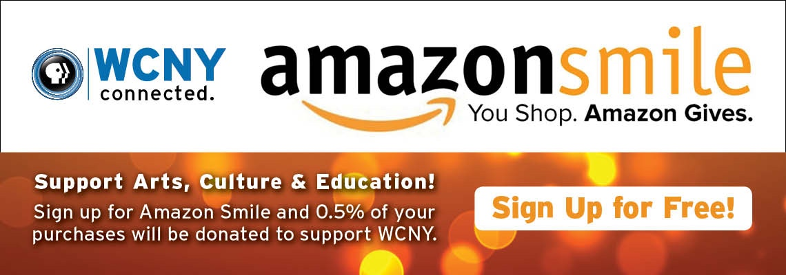Give back to WCNY when purchasing with Amazon Smile