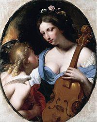 Antonio Franchi's Personification of Music, St. Cecilia