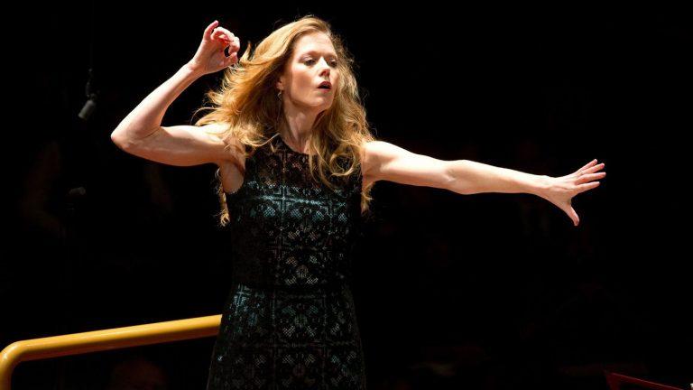 Barbara Hannigan, winner of the 2018 Grammy for classical solo vocal (Musacchio & Ianniello)