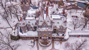 45Boldt Castle Enjoying a Winters EmbracePatrick Danforth Jefferson County