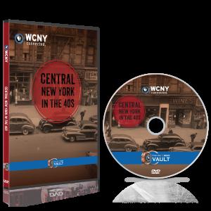 Central NY in the 40s DVD mockup
