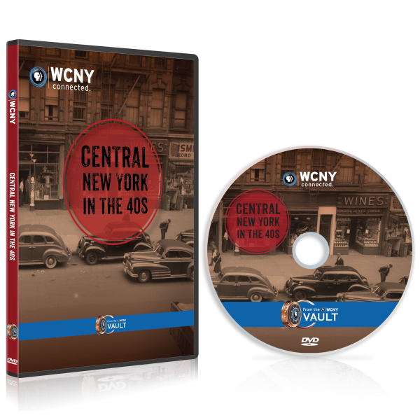 Central NY in the 40s DVD mockup