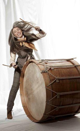 Percussionist Evelyn Glennie