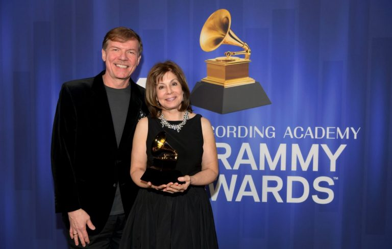 Compoer Kenneth Fuchs and Conductor JoAnn Falletta won the 2019 GRAMMY for Best Classical Compendium