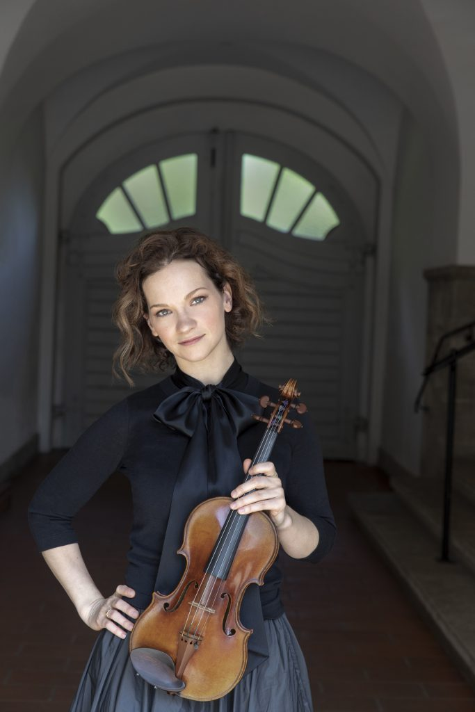 Hilary Hahn, violin credit Dana van Leeuwen