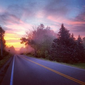 76Daybreak Commute: view from the bike Kate Stewart Madison County