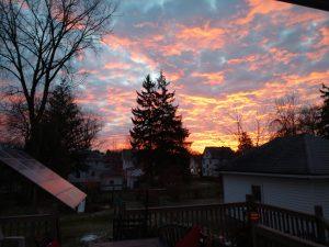 21Sunrise in Auburn New YorkPHILLIP GIOIA Cayuga County