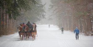 40Sleigh Ride and SkiersKevin Morrow Onondaga County