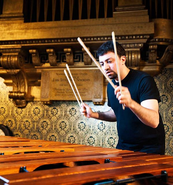 Percussionist Ian David Rosenbaum comes to the Cooperstown Summer Music Festival