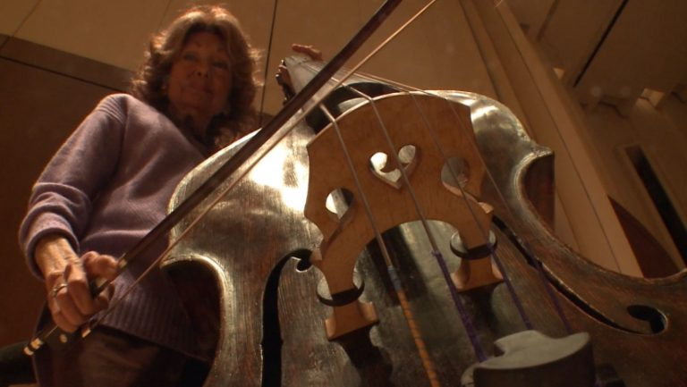 Jane Little, double bass with the Atlanta Symphony Orchestra
