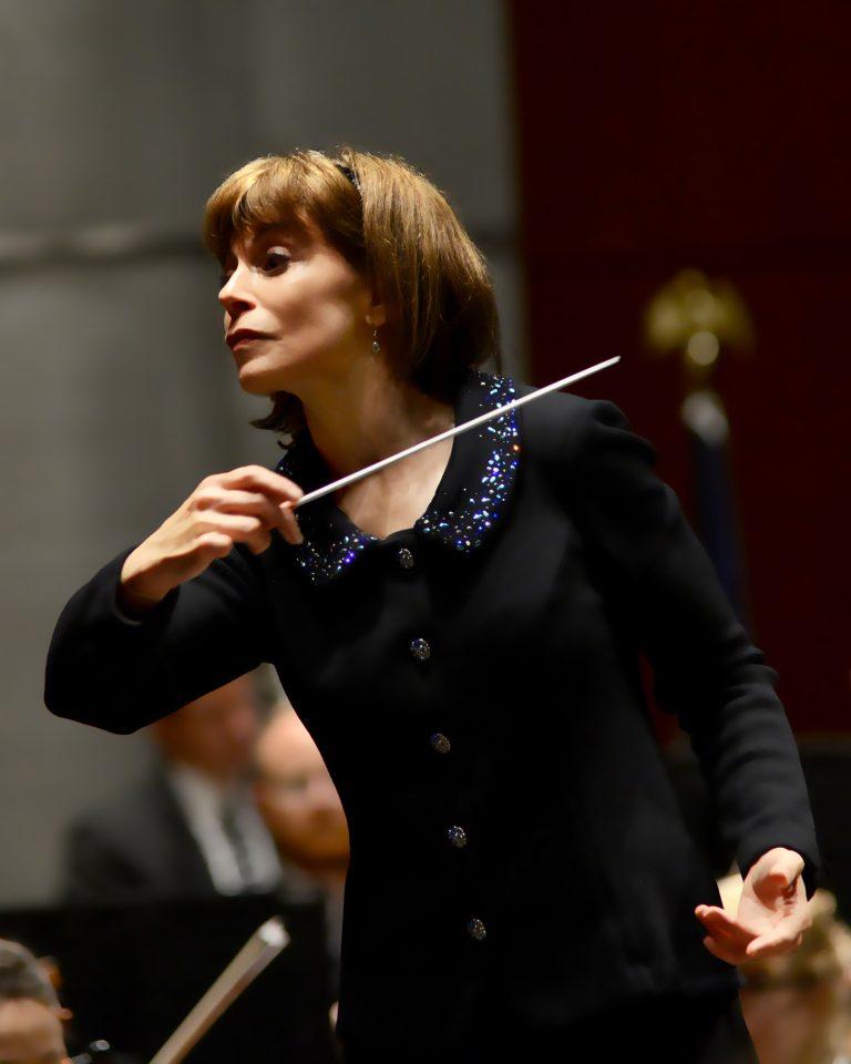 Maestra JoAnn Falletta has led the Buffalo Philharmonic for 20 years