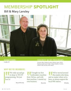 Bill and Mary Lansley