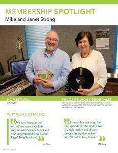 Mike and Janet Strong