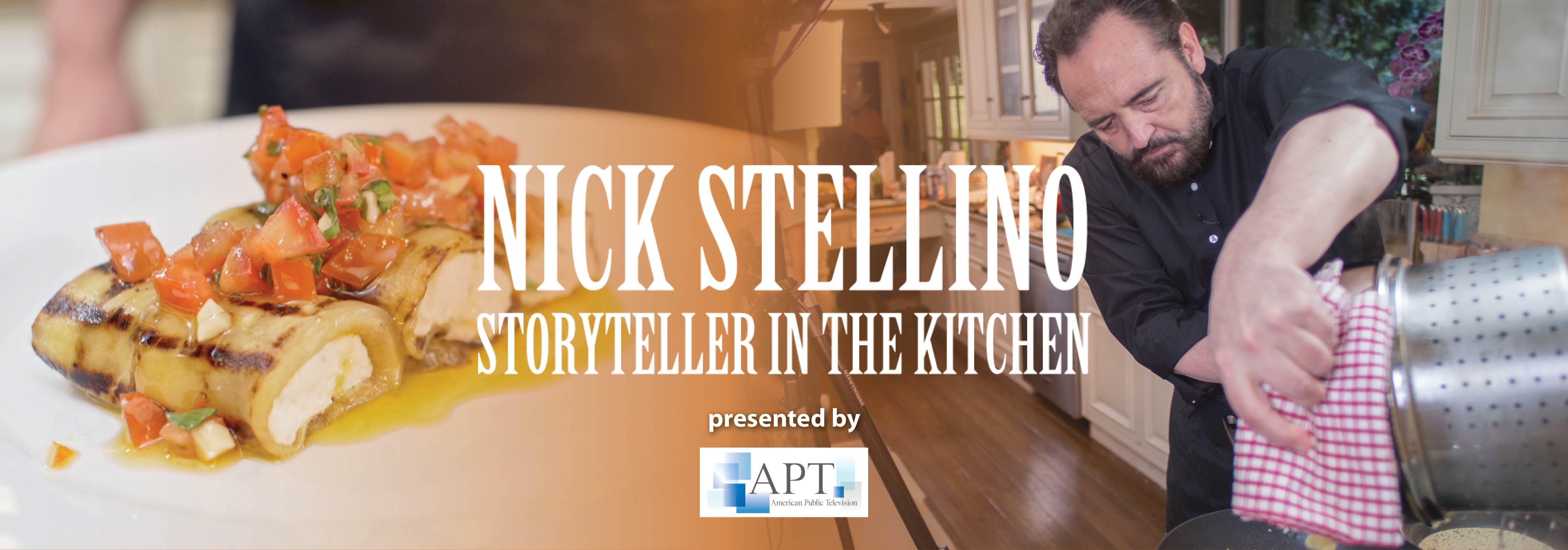 The Kitchen Show nick stellino: storyteller in the kitchen | member supported
