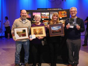 WCNY Scenes of the Region. Photo with the winners.
