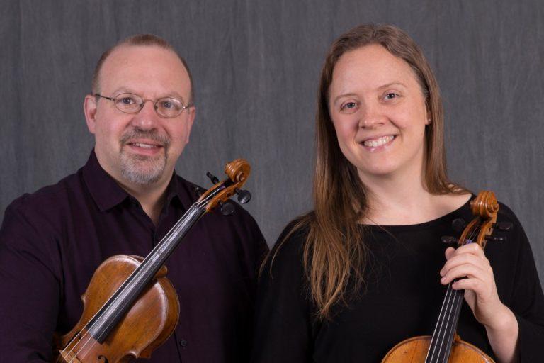 Peter Rovit, violin, & Arvilla Wendland, viola