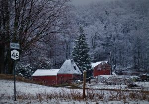 136 RTE 49 N Horse Farm Winter FreezeRhonda S (DeSantis) Bravick Madison County