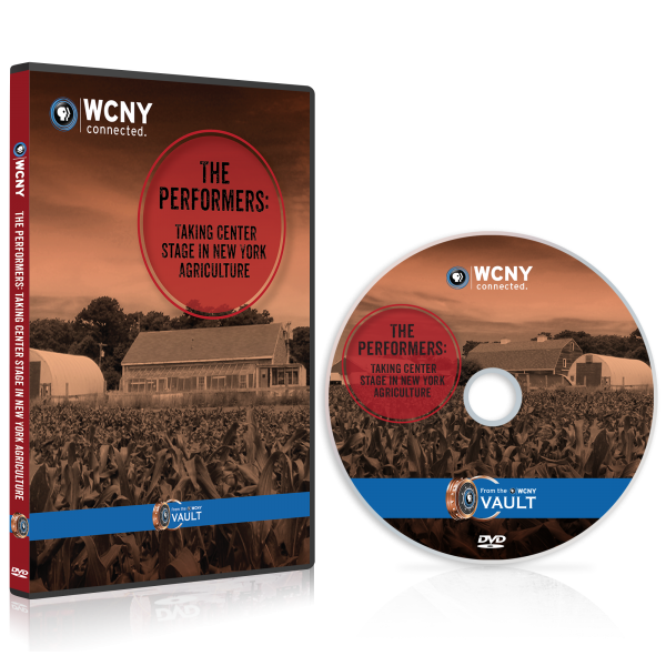 The Performers- Taking Center Stage in New York Agriculture DVD Mockup