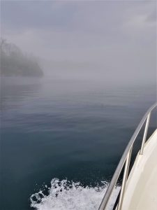 39Creeping forward in spring river fogSandy Buerkle Jefferson County