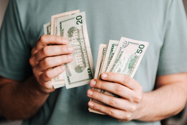 cash bills taxes economy