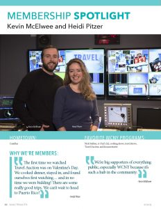 Kevin McElwee and Heidi Pitzer