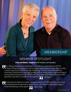 Anita and Bob Wagner